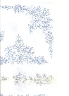 Diy Embroidery Kit, Floral Embroidery Patterns, Folk Embroidery, Embroidery Transfers, Silk Ribbon Embroidery, Hand Embroidery Designs, Chicken Scratch Embroidery, Fabric Painting, Pattern Art