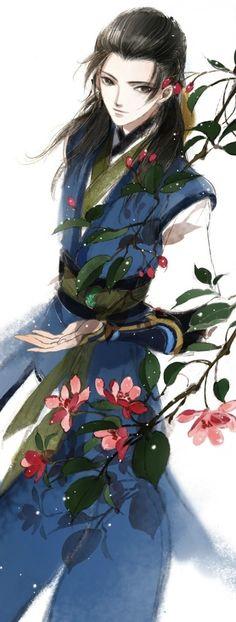 古剑奇谭2# 夏夷则 古风 耽美 插画