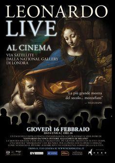 Leonardo Live al cinema