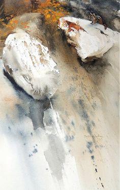 A Little Friend (Chipmunk) by Morten E. Solberg, Sr., 9x6, #watercolor jd