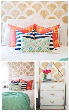 dormitorio colores www.classyclutter.net