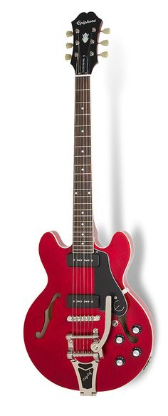 Epiphone ES 339 P90 Pro cherry with Bigsby