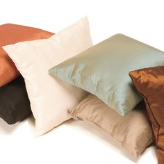 Faux Silk decorative cushion collection