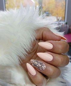 Winter pastel nail art by indigo nails - ibiza chill gel polish. Gorgeous Nails, Love Nails, My Nails, Pointed Nails, Stiletto Nails, Pastel Nail Art, Indigo Nails, Manicure Y Pedicure, Prom Nails