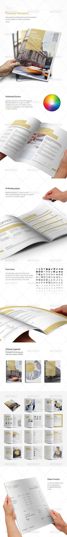 Commercial Proposal Format Pleasing Commercial Proposal Template #09  Commercial Proposal  Pinterest .