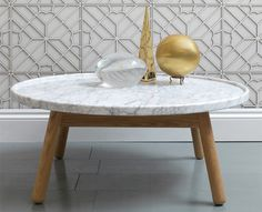 And it's coffee table sister.... G and T by Bethan Grey. Clean, perfect lines, luxury in simplicity. They do a little table in solid marble - it is the little table of my dreams.....