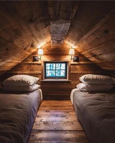 """14.7k Likes, 43 Comments - Tiny Houses (@tinyhouse) on Instagram: """"Yesterday a puppy & an a-frame were calling my name, tonight it's a room for two. Cozy capture by…"""""""