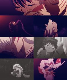 Sesshomaru and Rin = AWE! My heart, oh my heart... It's going to 'splode from the adorable-ness...