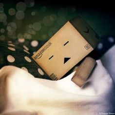 danbo sleep by on DeviantArt Box Robot, Robot Art, Danbo, Miss Piggy, Cardboard Robot, Robot Costumes, Amazon Box, Cute Box, Cute Photography