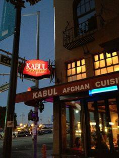 Kabul Afghan Cuisine in Burlingame, CA