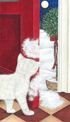 Snow Puffs Art of Anne Mortimer