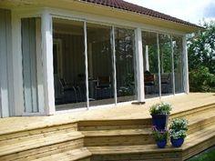 Sunroom, Outdoor Gardens, Beach House, Windows, Living Room, Decking, Bro, Tips, Photo Illustration
