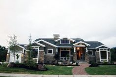 The house that started my growing obsession with Craftsman style homes.