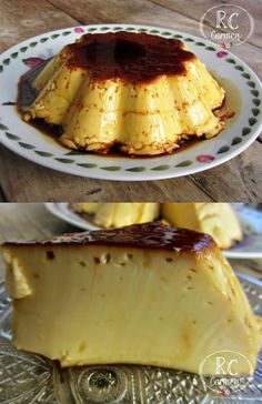 Sweet Desserts, Just Desserts, Sweet Recipes, Delicious Desserts, Yummy Food, Baking Recipes, Cake Recipes, Dessert Recipes, Flan Recipe