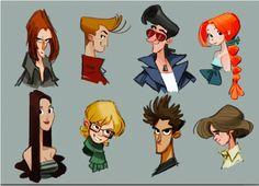 Taller de Diseño de personajes                                                                                                                                                      Más