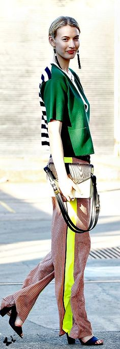 Stripes trend from Our Pins we love board #fashion www.stylendubai.com
