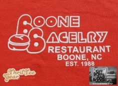 Boone Bagelry Restaurant in Boone, North Carolina a mainstay or Main Street in Boone. ThrifTee Gear Reusable Lunchbag. $14.95 with free shipping. www.thrifteegear.com