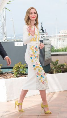 Pin for Later: Emily Blunt Is Having a Ball in Cannes, Even Without Her Handsome Hubby