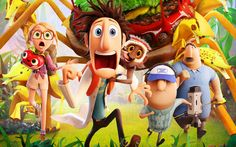 cloudy with a chance of meatballs movie HD Desktop