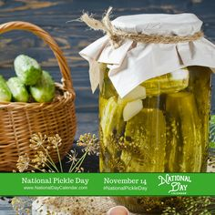 National Pickle Day would like to know...  What's your favorite pickle? Dill, Gherkin, Kosher Dill, Polish, Hungarian, Lime, Bread & Butter  via @nationaldaycal