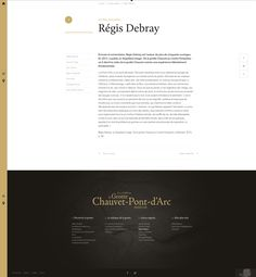 Grotte Chauvet - autres regards webdesign