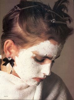US Vogue August 1984 A New Perspective On Beauty Photo: Denis Piel Models: Laeticia Firmin-Didot; Alexa Singer