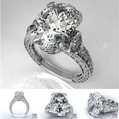 oval diamond vintage engagement ring