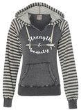 Strength & Beauty Graphite Pullover Fleece Sweatshirt | SoRock Shop