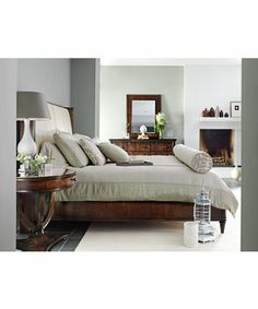 Stanley Furniture » Beds » Avalon HeightsUpholstered Bed 6/6 King