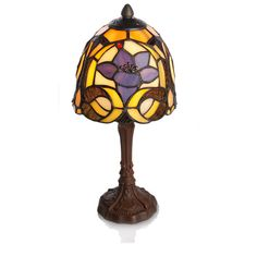Blooming Iris Table Lamp