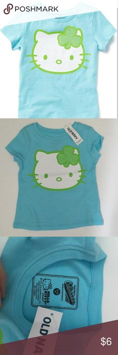 Old Navy Collectable Tee Short sleeve blue hello kitty tee new with tags Old Navy Shirts & Tops Tees - Short Sleeve