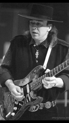 Stevie Ray Vaughan: What an amazing musician. Every time I play his music, or hear it on the radio, I fall in love with him over and over again. You are missed greatly my friend. RIP