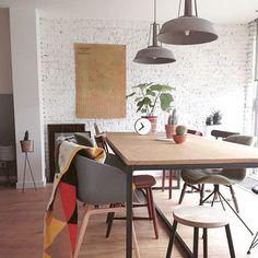 HK-1007 sfeer Pendant Lamp, Pendant Lighting, Tiffany Lamps, Modern Pendant Light, Modern Lighting, Dining Table, Inspiration, Furniture, Vintage
