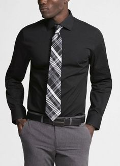 1000 images about shirt tie combos on pinterest ties for Black shirt and tie combinations