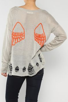 Wings Back Sweater #wholesale #fall #cardigan #sweater #pants #jacket #sweater #fashion #clothing #ootd #wiwt #shopitrightnow #graphics #patterns #costume #halloween