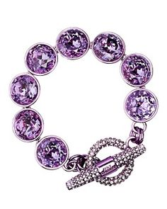 Juicy Couture  Pave Toggle Bracelet