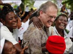 Stephen Lewis ~ His charitable foundation provides support to women, orphaned children, grandmothers & people living with HIV & AIDS in Africa.