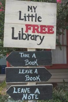 Pine Cones and Acorns: Little Free Library