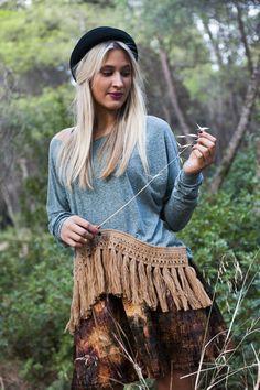 Katerina : Kwanita Top - Amitola Skirt / Photo by : Theo Vranas