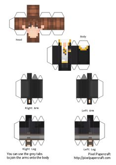 Minecraft Templates, Minecraft Pixel Art, Cool Minecraft, Minecraft Crafts, Minecraft Skins, Papercraft Minecraft Skin, Iphone Wallpaper Themes, Minecraft Characters, Painting Templates