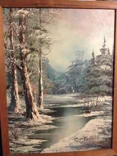 Oil Painting Artist Cantrell