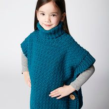Little Pebbles Crochet Poncho