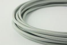 Grey power cord