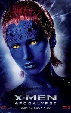 'X-Men: Apocalypse' (2016) Character Poster, Jennifer Lawrence