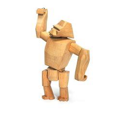 Areaware Gorilla Hanno, #Areaware #wooden_figure #Classic #Toys #Wood_Design www.artvoll.de