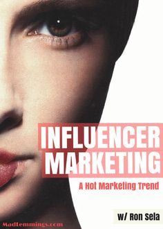 Influencer Marketing is becoming a force to be reckoned with in the online marketing world. And this trend is exponentially increasing.  Welcome to the world of Influencer Marketing…