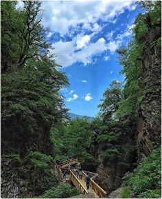 Waterfall Ziarat village Gorgan Golestan Iran