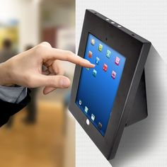 Safely and securely place your iPad on display. The Pyle PSPADLKW5 anti-theft stand can be installed on any wall, flat surface, table top, desk, counter, etc. Rugged and durable steel construction provides device security where needed. | eBay!