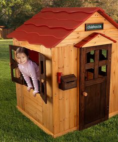 Look at this KidKraft Outdoor Playhouse on #zulily today!