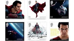 Superman stamps - Henry Cavill